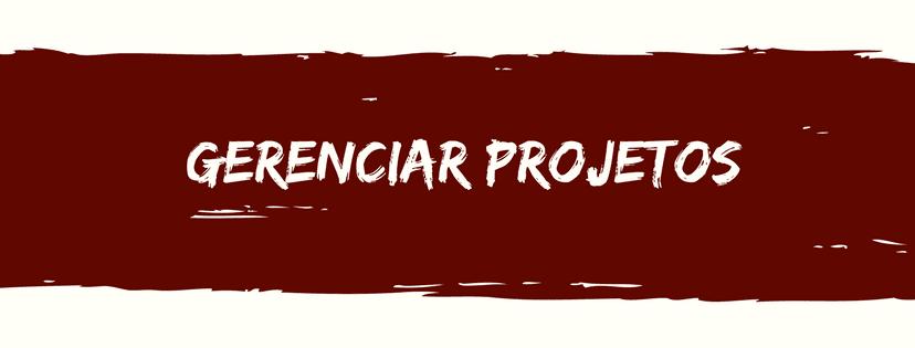 gerenciar projetos