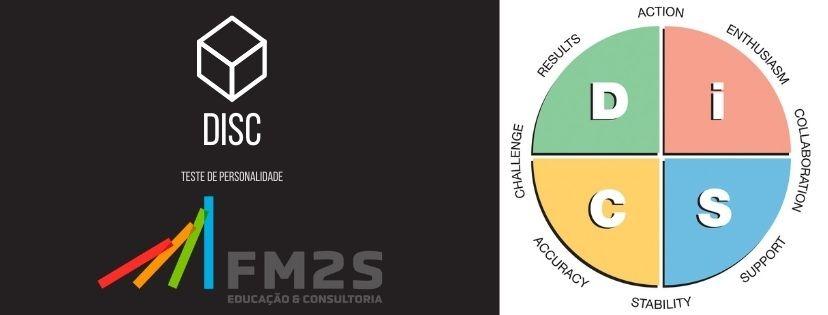 teste disc de personalidade com logo fm2s