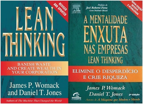 livros lean thinking