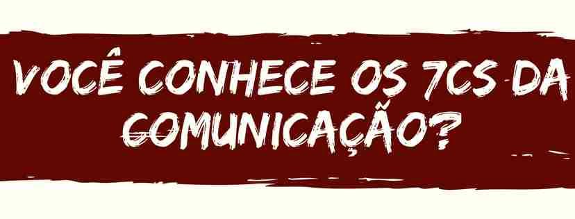 7 Cs da comunicação