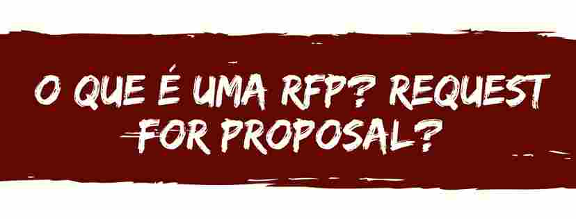 rfp request for proposal