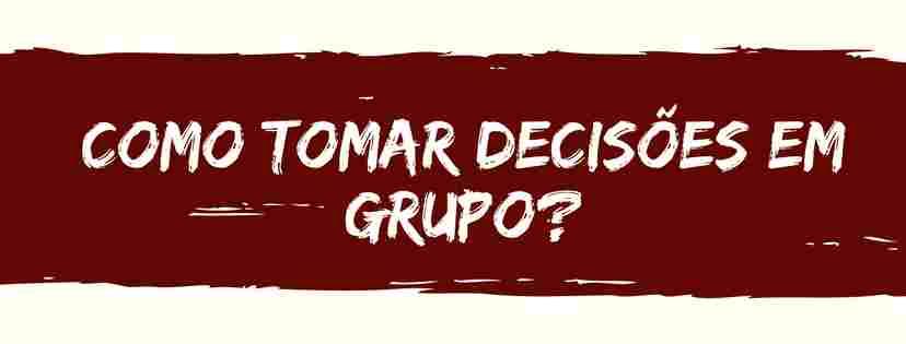 Tomar decisões em grupo
