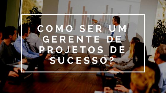 gerente de projetos de sucesso