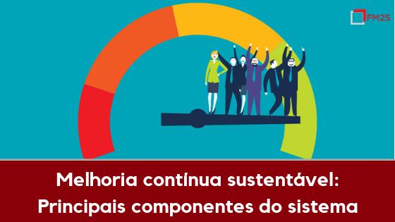 Melhoria contínua sustentável: principais componentes do sistema