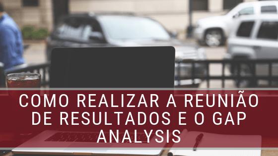 gap analysis e desempenho