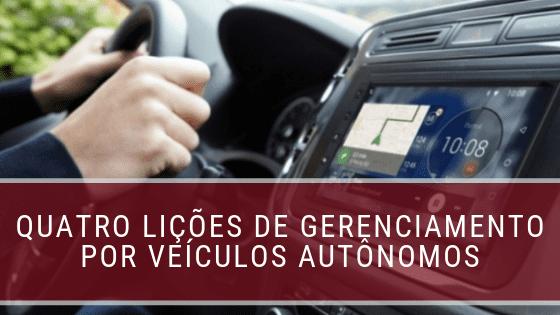 veículos autônomos