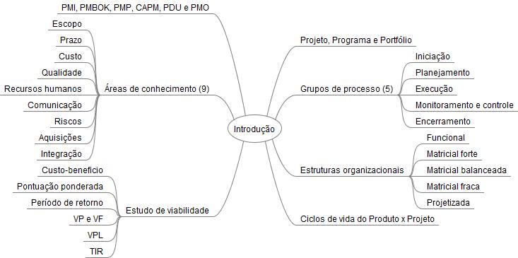 imagem ilustrativa de mapa mental