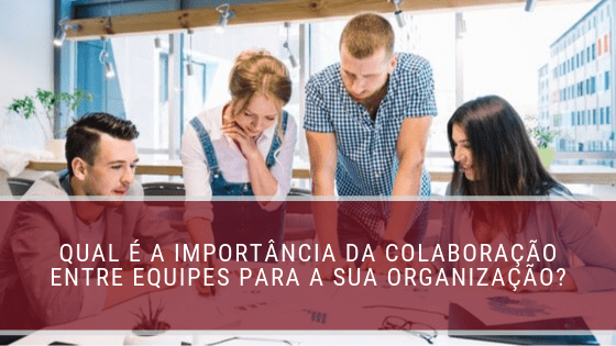 colaboração entre equipes