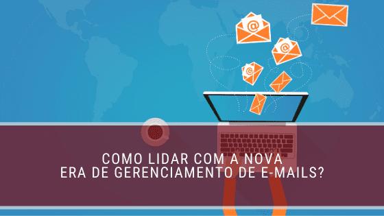 gerenciamento de e-mails
