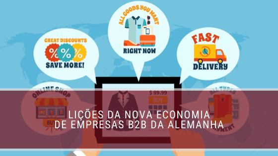 Lições da nova economia de empresas B2B da Alemanha