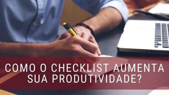 Checklist e Produtividade