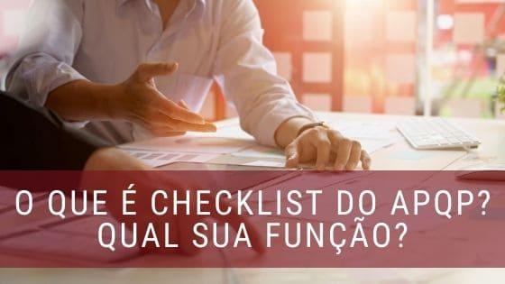 Checklist APQP